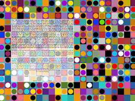The Circles And Squares Ketubah