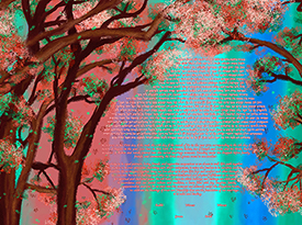 In Love With Spring Ketubah