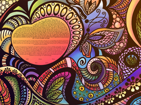 The Life in Technicolor Ketubah