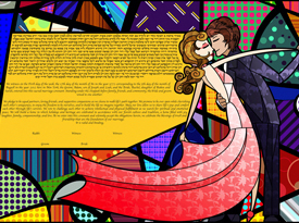The Lovers Dance Ketubah