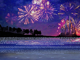 The Magical View Ketubah
