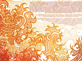 The Swirls Ketubah