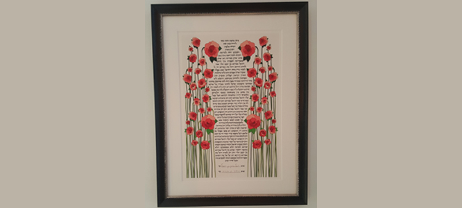 "Ketubah Love: ""It Is Perfect."""